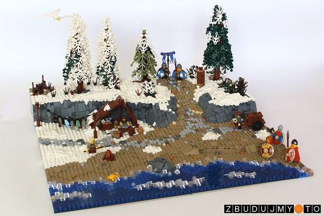 Viking village - coastline