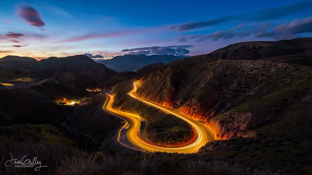 Grimes Canyon Blue Hour (Explore)