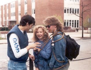 Penn State Mall Climb 1990