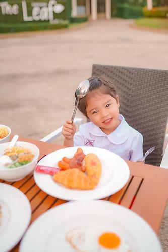 รีวิว อาหารเช้า The Sand KhaoLak