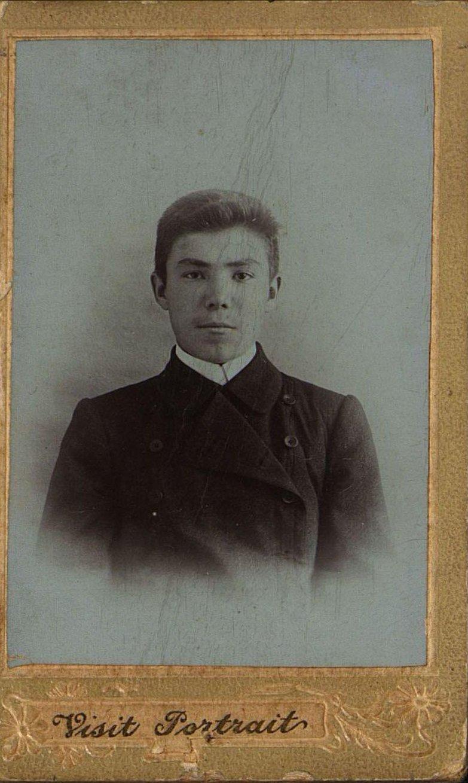 11. Чазов Иван Васильевич перед отъездом на заработки в Бодайбо.1911