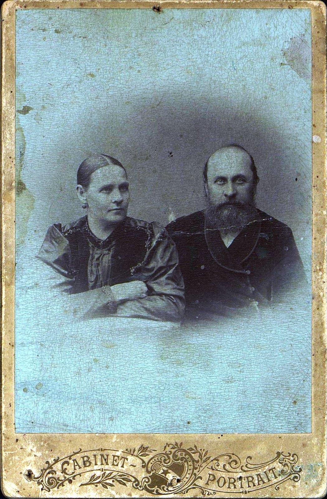 05. Горелов Владимир Захарович, занимавшийся извозом в Бодайбо, и его жена Мария