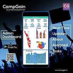 CampGain - volunteer Management App