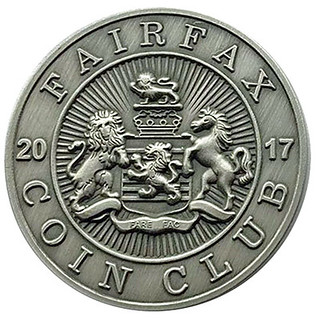Fairfax Coin Club medal obverse | by Numismatic Bibliomania Society