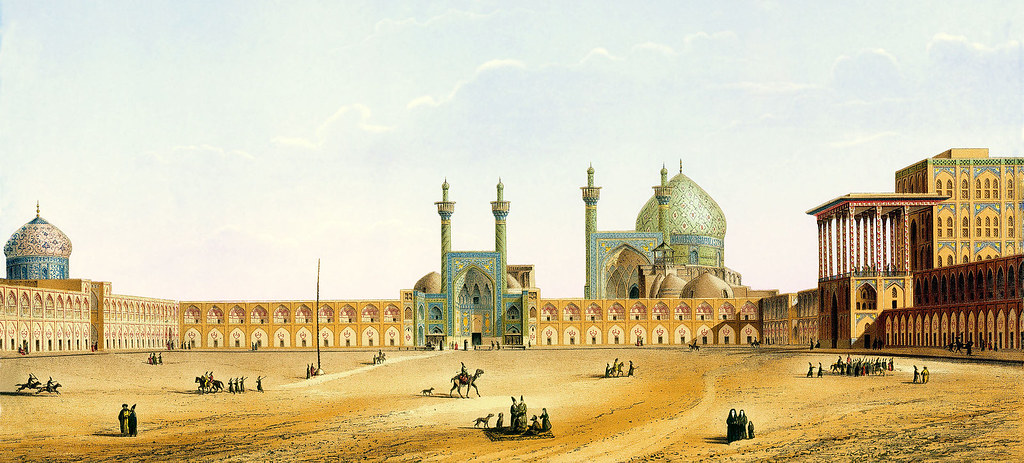 Naqsh-e_Jahan_Square_by_Pascal_Coste_1_Ver2