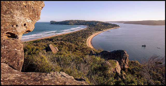 Barrenjoey headland, the southern view
