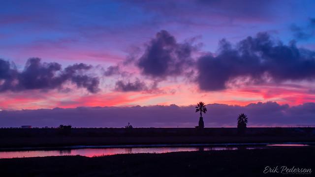 Sunset over Los Peñasquitos Lagoon (Explored)