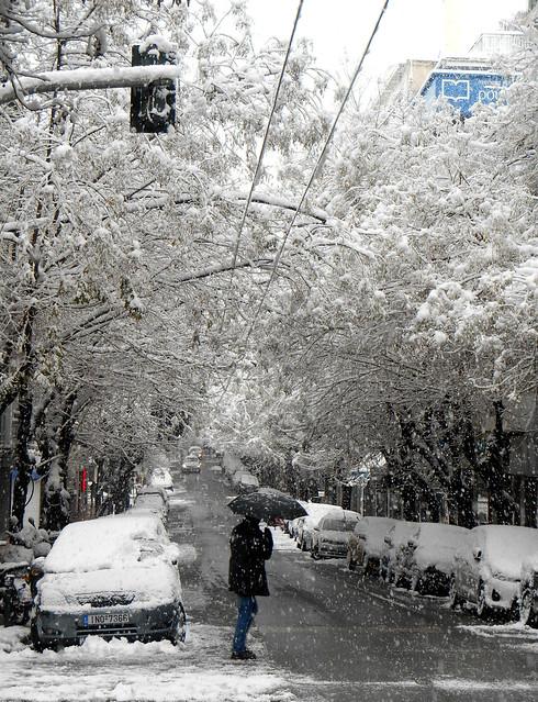 Ασυνήθιστες εικόνες της Αθήνας, 1 / Uncommon images of Athens, 1