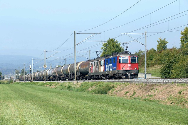 SBB Re 4/4 420 178 + 420 346 Sissach