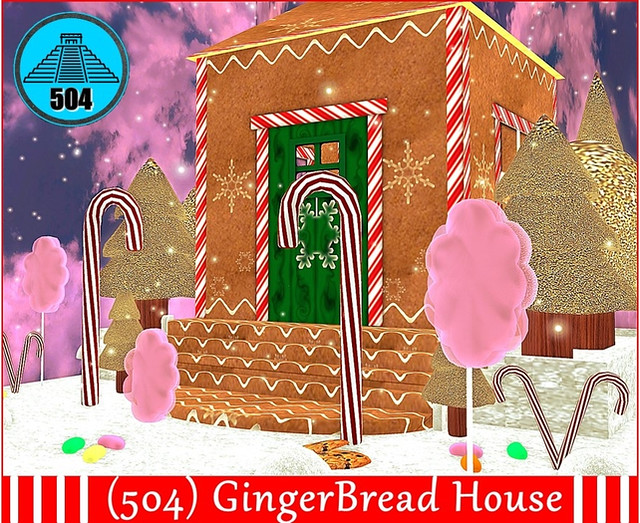 (504) GingerBread House