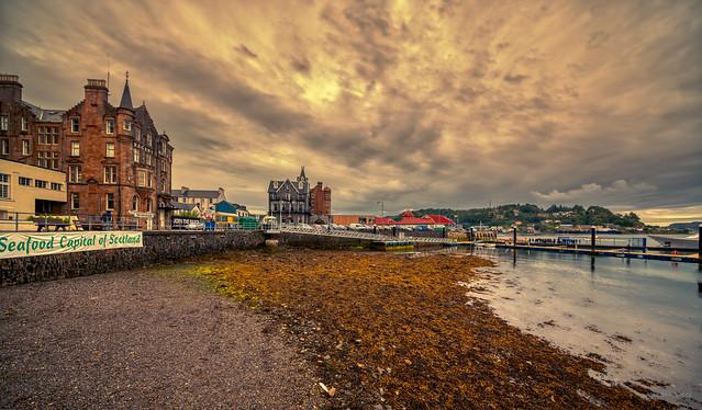 Oban, the Seafood Capital of Scotland.