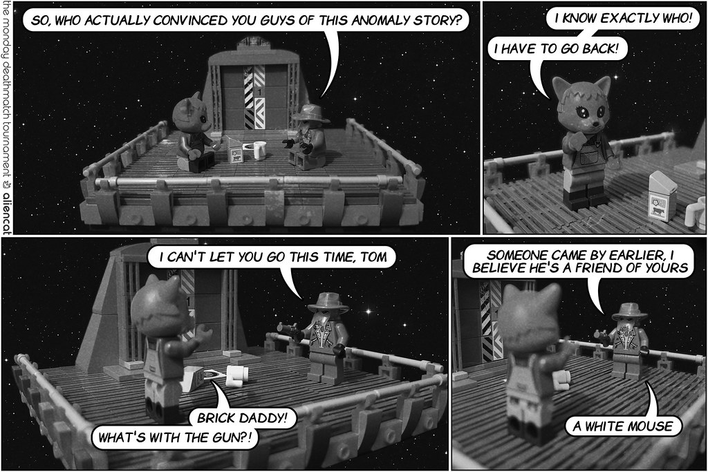 The Monday Deathmatch Tournament - Page 227: What's with the Gun?