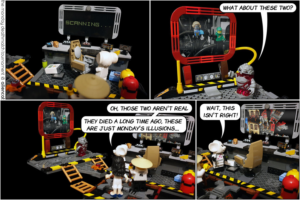 The Monday Deathmatch Tournament - Page 230: Scanning