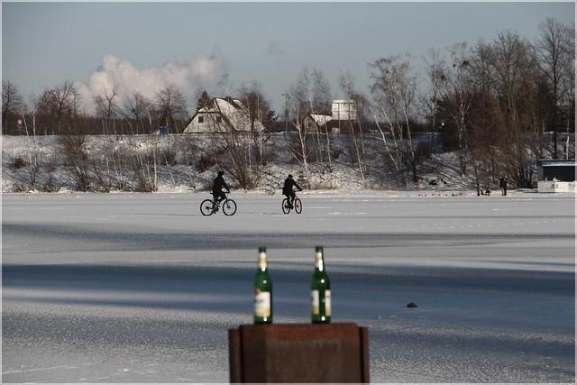 2x2 Radler auf Eis ...