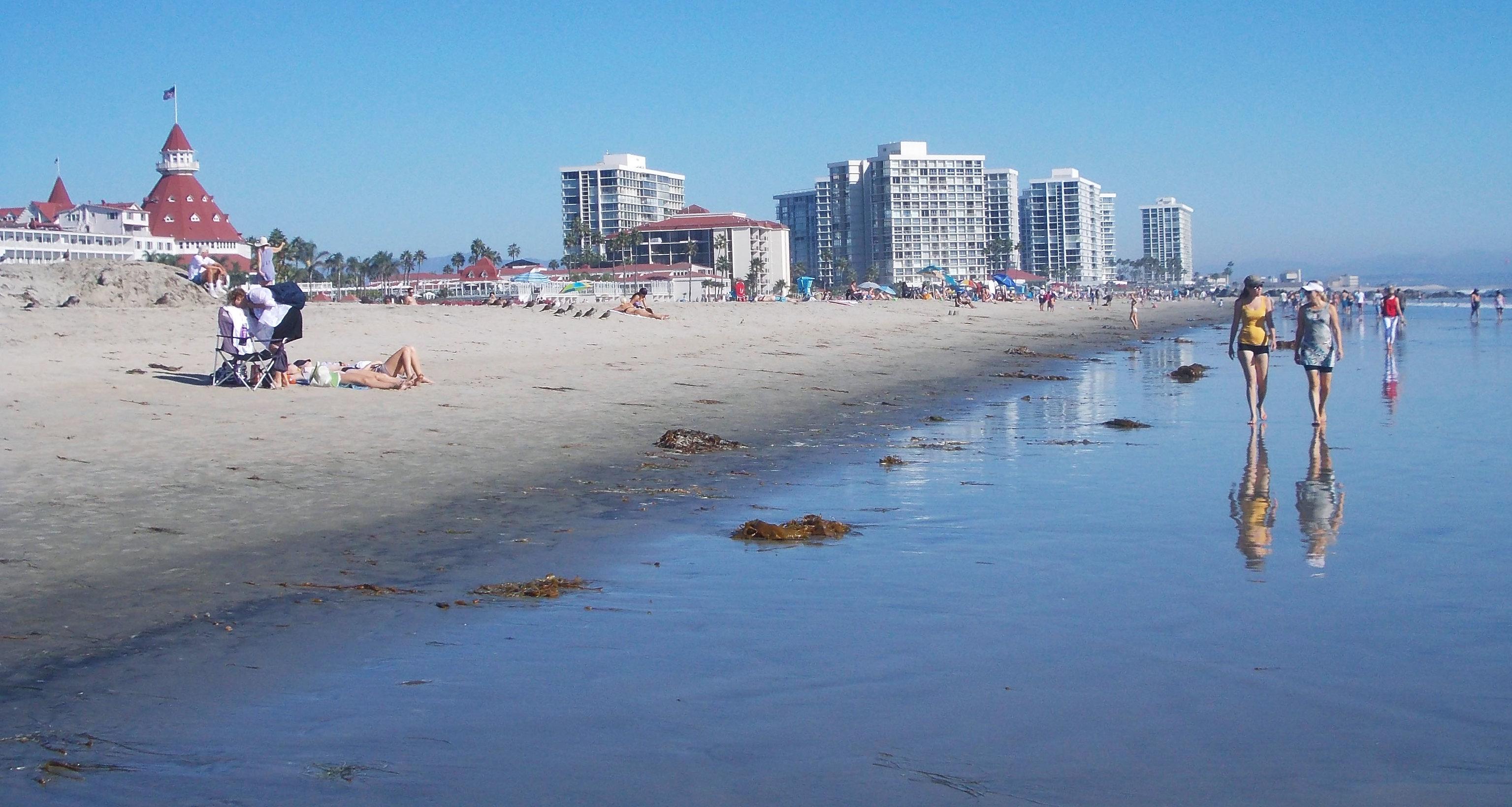 Coronado Beach, San Diego, California, USA