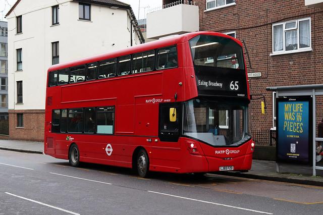 Route 65, London United, VH45157, LJ65FZO