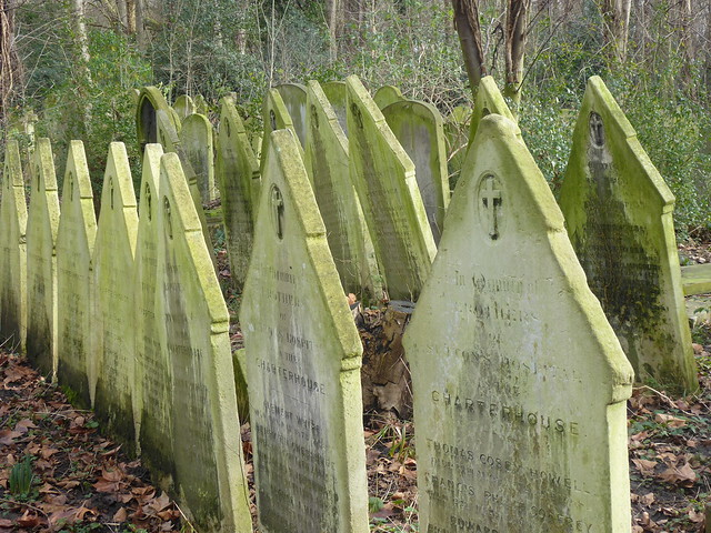 Charterhouse Brothers' Gravestones, Tower Hamlets Cemetery, London