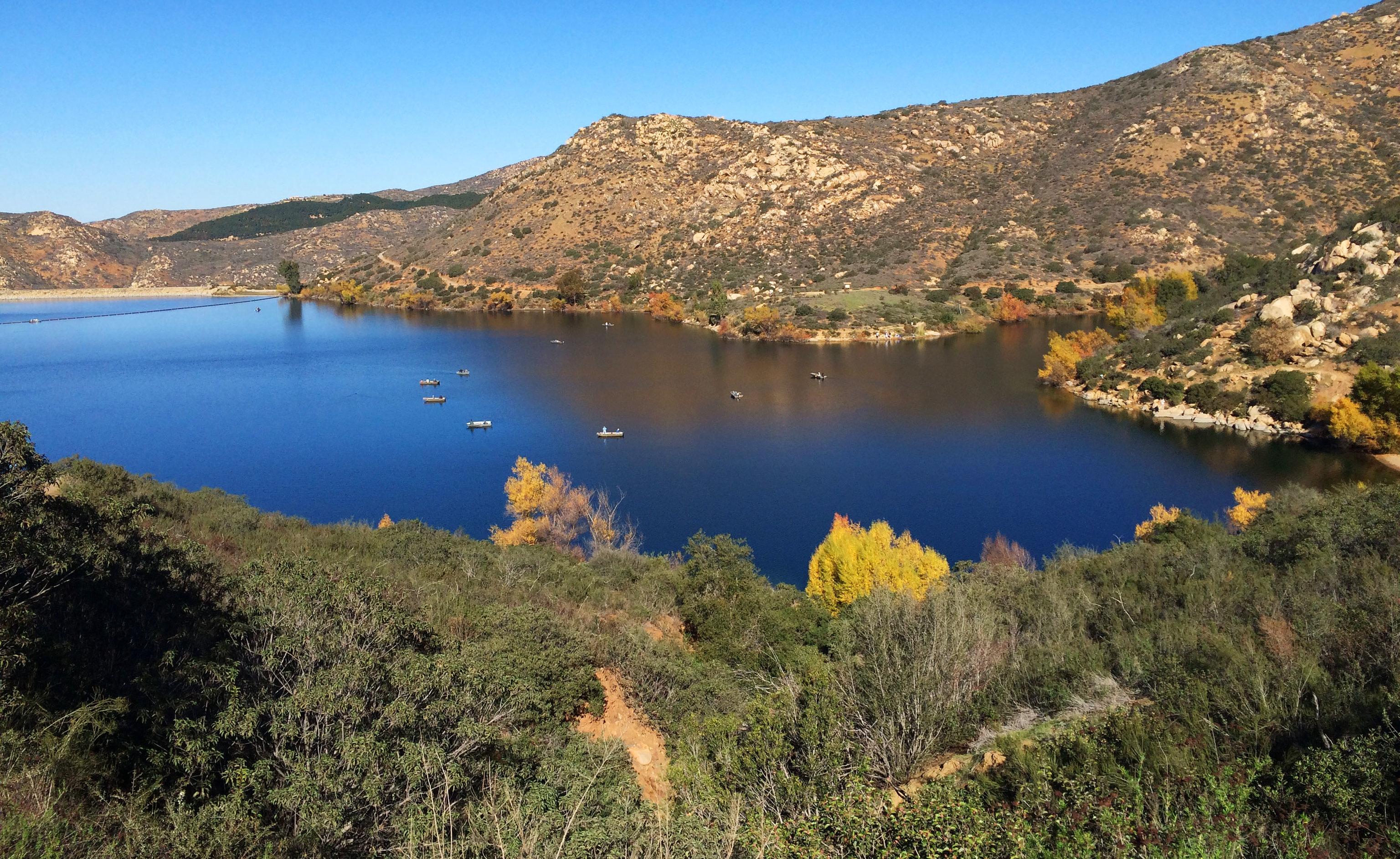 Lake Poway, California, USA