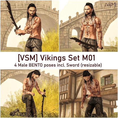 [VSM] Vikings Set M01 AD