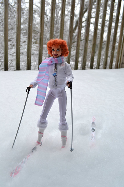 Lucy Hits the Slopes