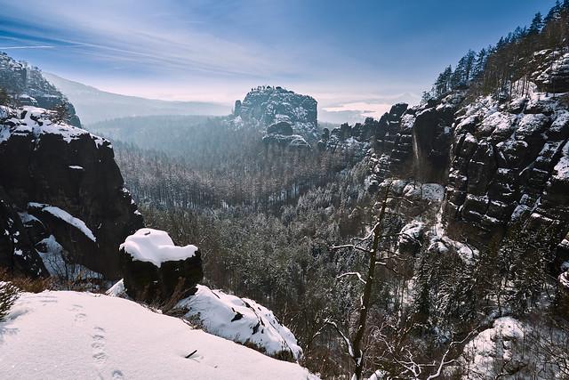 Blue gorge II
