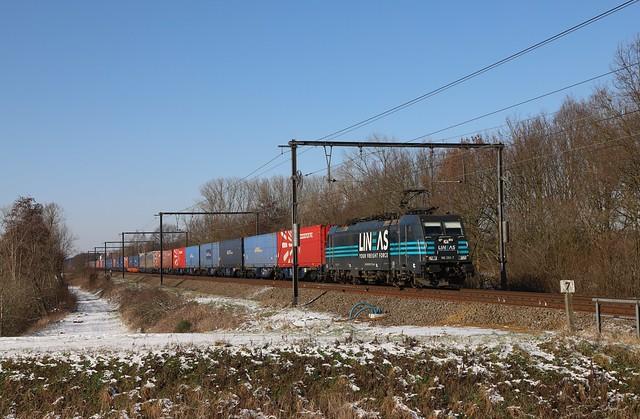 LINEAS 186 293-7 Schulensbroek 9/02/2021.