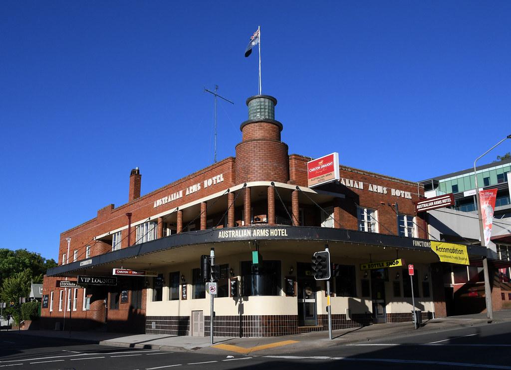Australian Arms Hotel, Penrith, Sydney, NSW.