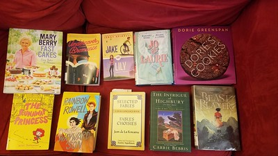 Ten Mardi Gras-Hued Books