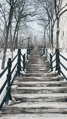 Snowy staircase | by MassiveKontent