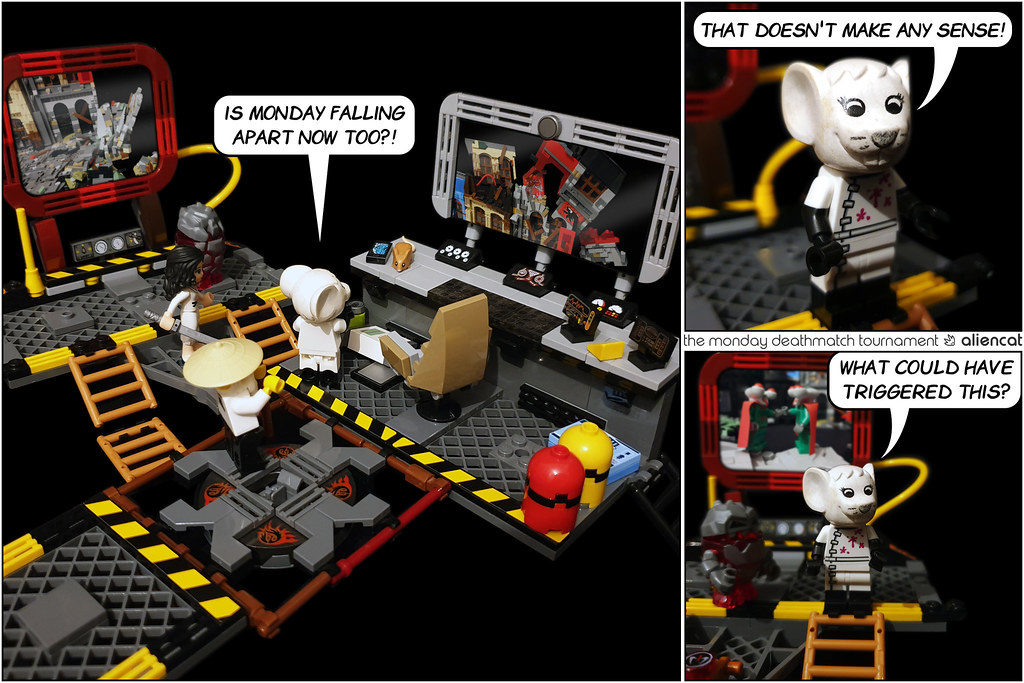 The Monday Deathmatch Tournament - Page 231: What could have triggered this?