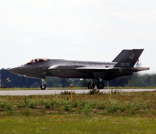 MM7336 32-05 F-35A Marham 22-7-20