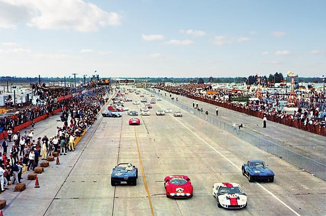 1966 Sebring start