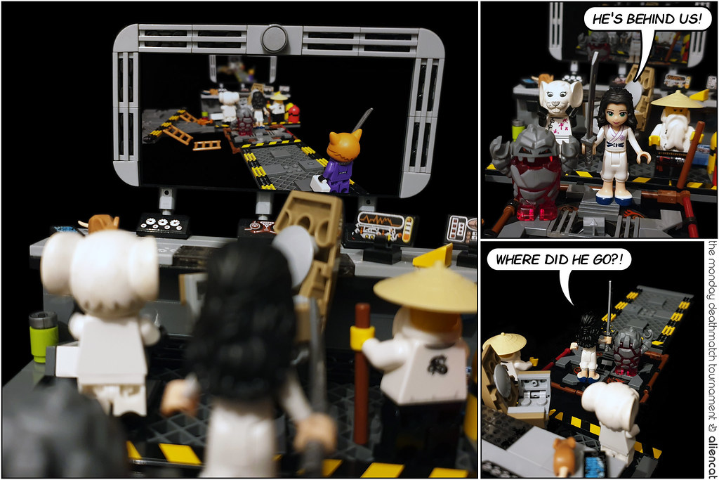 The Monday Deathmatch Tournament - Page 235: He's Behind Us!