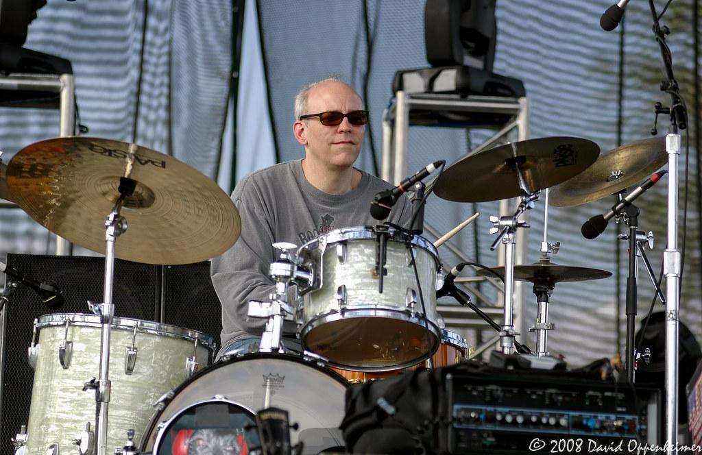 Chris Brown on Drums with Sam Bush Band