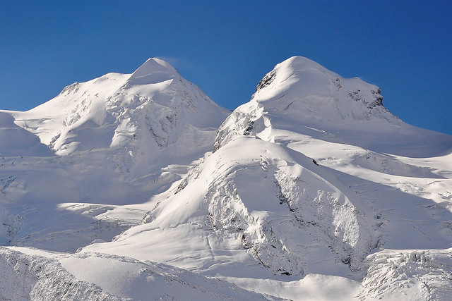 Castor (4.223 m) and Pollux (4.092 m)