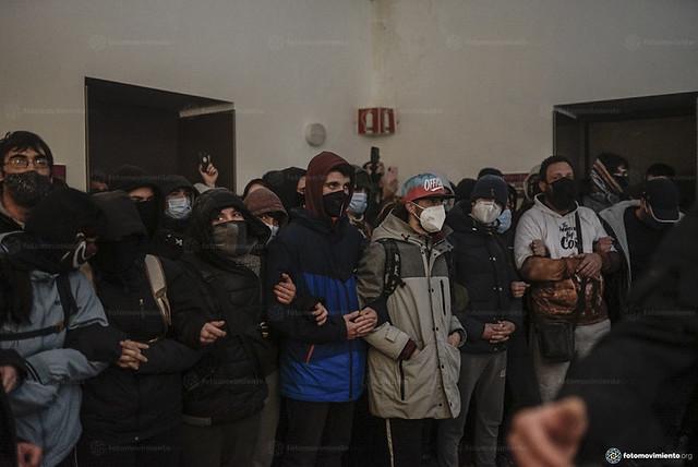16_02_2021 Detenció de Pablo Hasél a la Universitat de Lleida