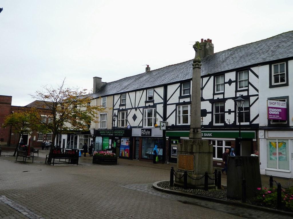 Poulton-le-Fylde town centre