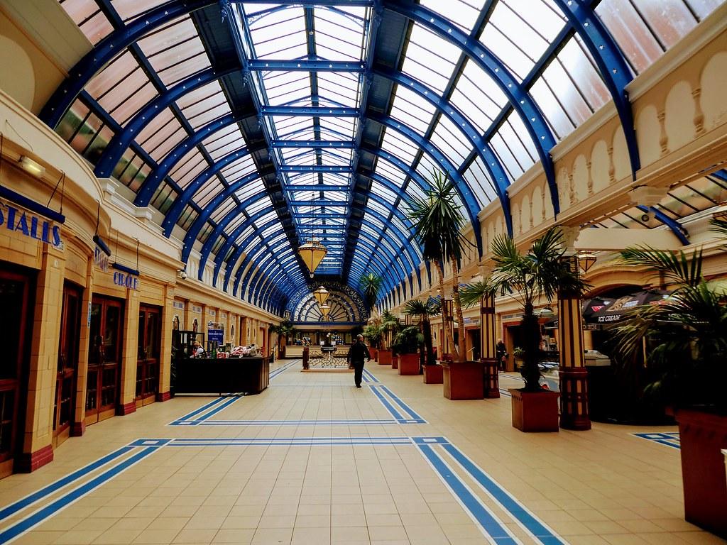 Art-Deco Hallway, Winter Gardens, Blackpool