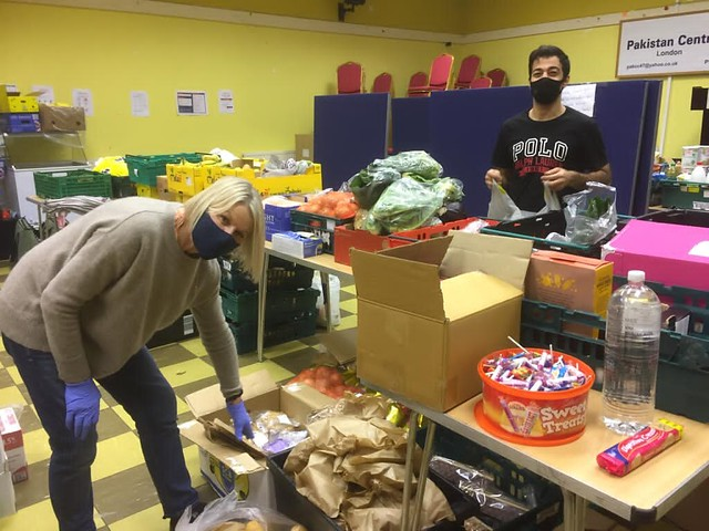 #CollectingBrent : Mutual Aid Food Willesden