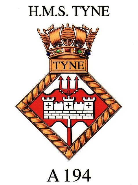 HMS Tyne crest