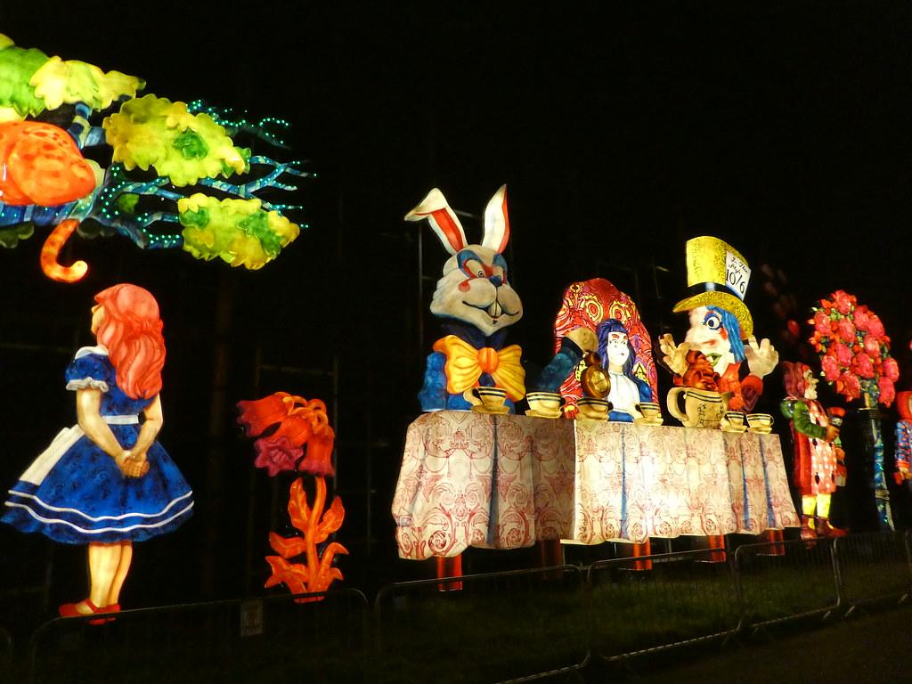 Alice in Wonderland tableau, Blackpool Illuminations