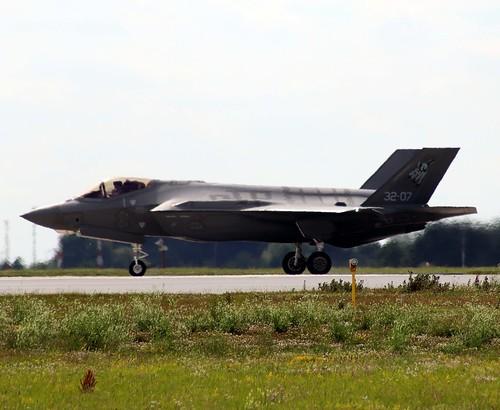 MM7357 32-07 F-35A Marham. 22-7-20