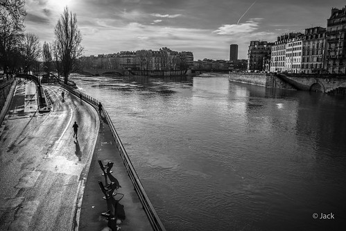la Seine au matin