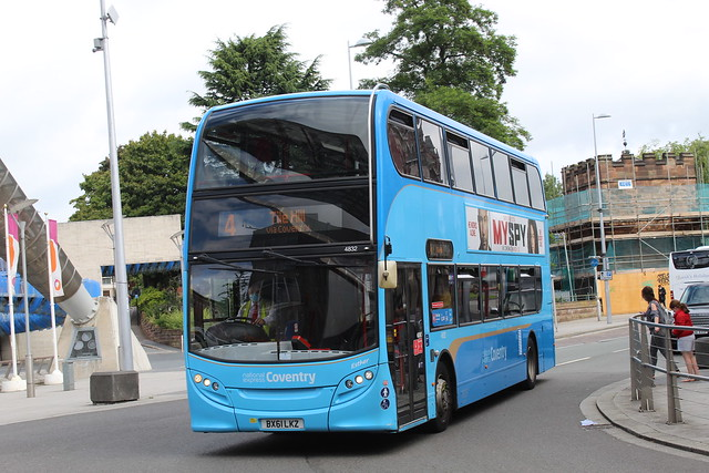 National Express Coventry ADL E40D (ADL Enviro 400) 4832