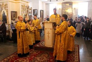 14.02.2021 | Литургия в Покровском соборе
