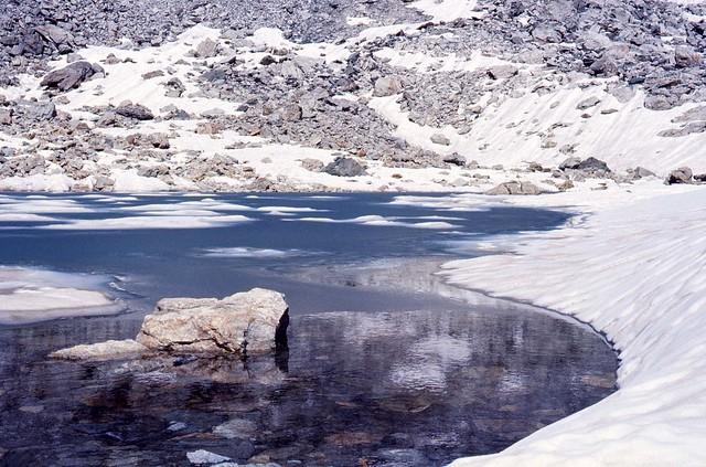 Il lago ghiacciato (settembre 1977)
