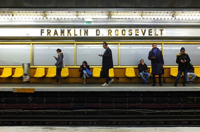Travelling Memories : Eyes Down @ Franklin D. Roosevelt, Paris 2017
