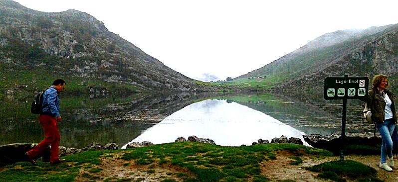 Lago Enol . Picos de Europa