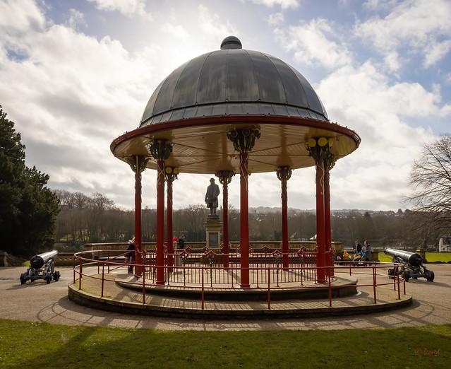 Bandstand -Roberts Park - Saltaire