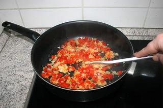 22 - Braise bell pepper / Paprika andünsten